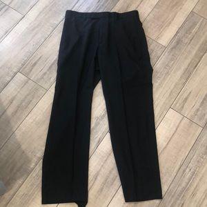 Men's black slacks